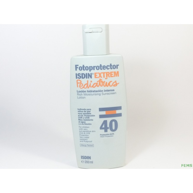 Fotoprotector isdin extrem 40 50