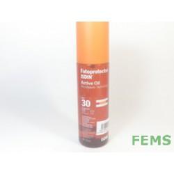 Fotoprotector Isdin spf 30 active oil 200 ml