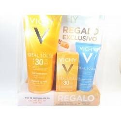 Vichy Ideal Soleil Pack Cuerpo spf 30 leche + Facial spf 30 emulsión