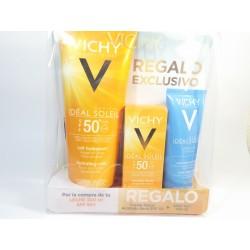 Vichy Ideal Soleil Pack Cuerpo spf 50+ leche + Facial spf 50 emulsión