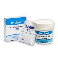 Ácido Bórico Lisubel 50 g