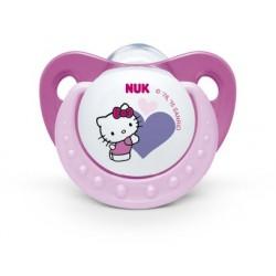 Nuk Chupete Hello Kitty talla 6-18 meses silicona