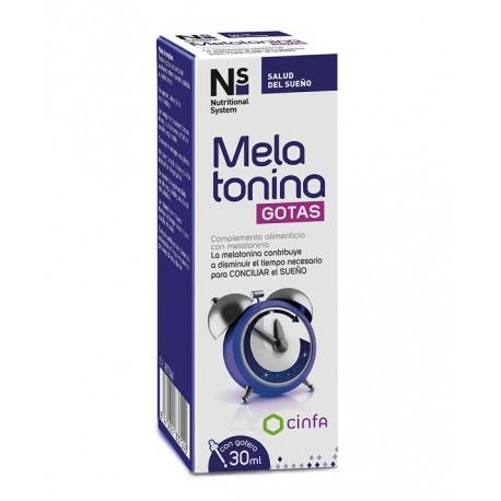 Ns Melatonina gotas 30 ml