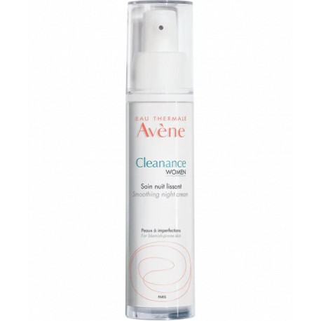 Avene Cleanance Women noche alisador 30 ml