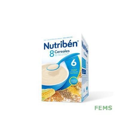 Nutribén 8 cereales (600 gr)