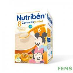 Nutribén 8 cereales y miel (600 g)