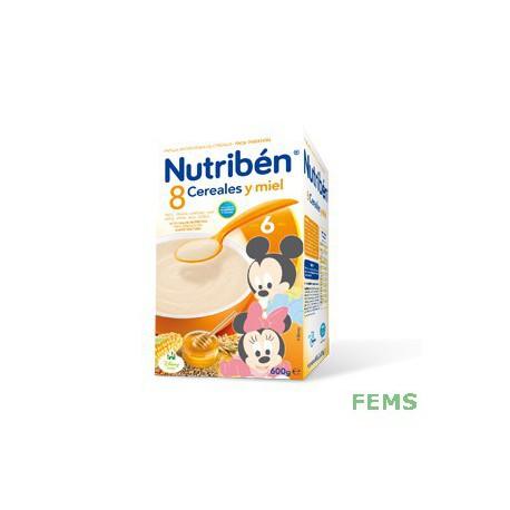 Nutribén 8 cereales y miel (600g)
