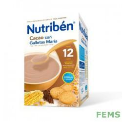 Nutribén cacao con galletas maría (600 g)