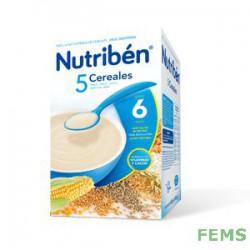 Nutribén 5 cereales (600 g)