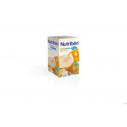Nutribén 8 cereales y miel con leche adaptada (600 g)