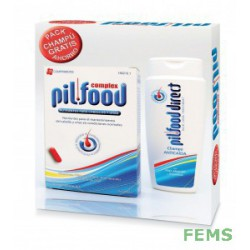 Pilfood complex 120 comprimidos + CHAMPU DE REGALO