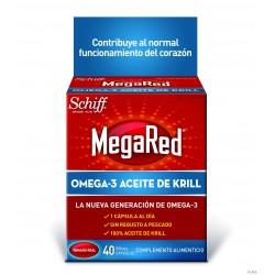 Megared Omega-3 Aceite de Krill 40 cápsulas