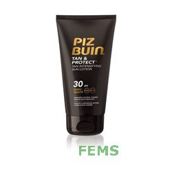 Piz Buin Tan & protect loción intensificadora bronceado spf 30 150 ml