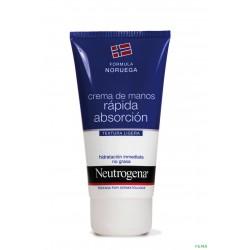 Neutrogena Crema de manos rápida absorción DUPLO